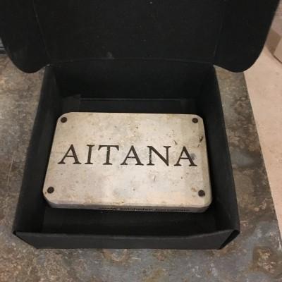 placas de piedra natural homenaje nombre
