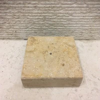 Peana o base de piedra...